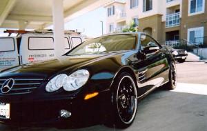 Black 2 Door Benz