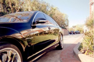 Black V12 Benz