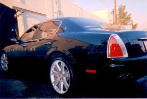 Black Maserati
